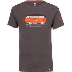 La Sportiva Van Shortsleeve Shirt Men grey